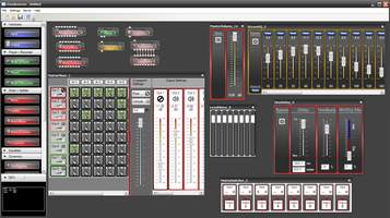 Kontextmenüs in der AudioServer Software