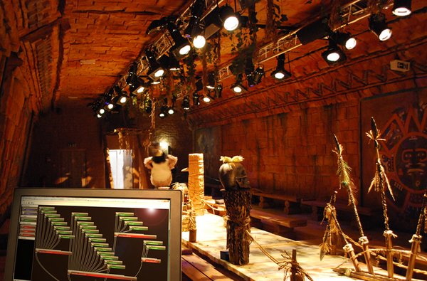 Einsatz des iSAudioServers im Tula Tempel im Phantasialand